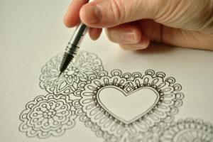 disegnare-rose-a-mano-libera