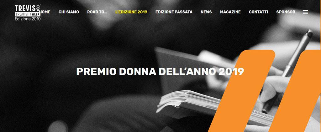 Vota la prossima Donna dell'anno 2019 – Treviso Creativity Week
