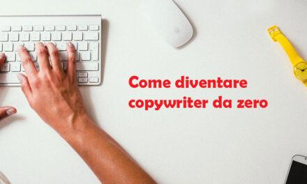 Come diventare copywriter da zero