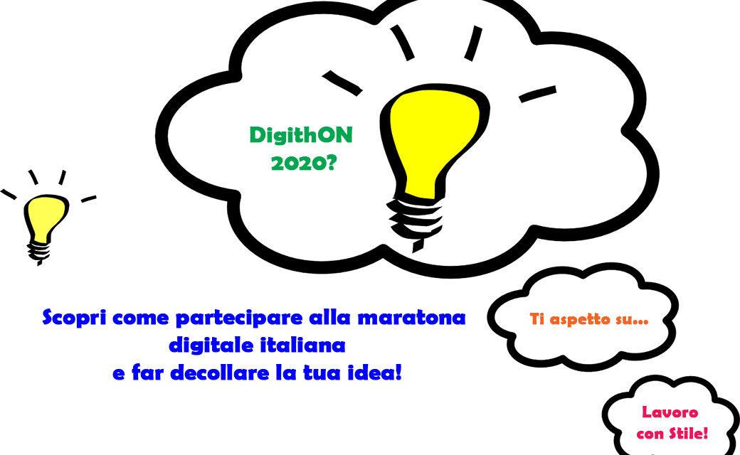 DigithON 2020 premia idee e start-up digitali