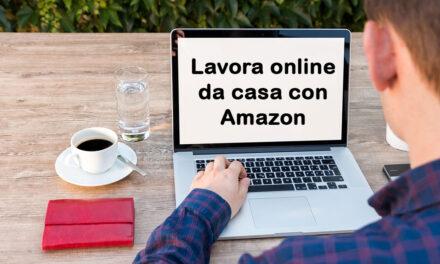 Lavorare online da casa con Amazon Mechanical Turk