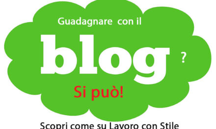 Trovare lavoro come Blogger
