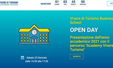 Open day Business School Vivere di turismo di Danilo Beltrante