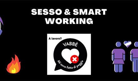 Partecipa all'indagine sesso e smart working