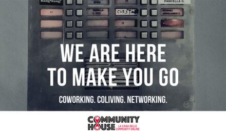 Community House è coworking, coliving, networking insieme in un unico spazio