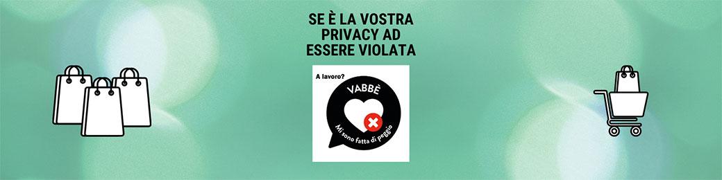 Uso improprio dell'immagine aziendale per violare la privacy delle clienti